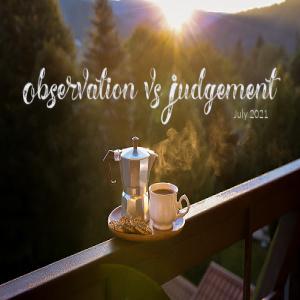 Observation vs Judgement